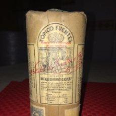 Caixas e caixinhas metálicas: TOPICO FUENTES PARA CABALLOS - SIN ABRIR PRECINTADA - AÑO 1960 - PALENCIA. Lote 218158933