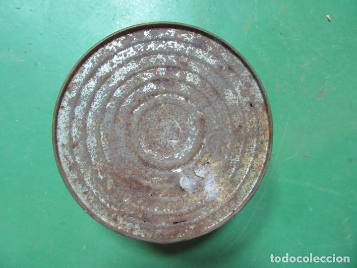 Cajas y cajitas metálicas: Lata de conservas de sardinas en aceite. La Chula. Laredo, Vinaroz y Algeciras. - Foto 3 - 218733841