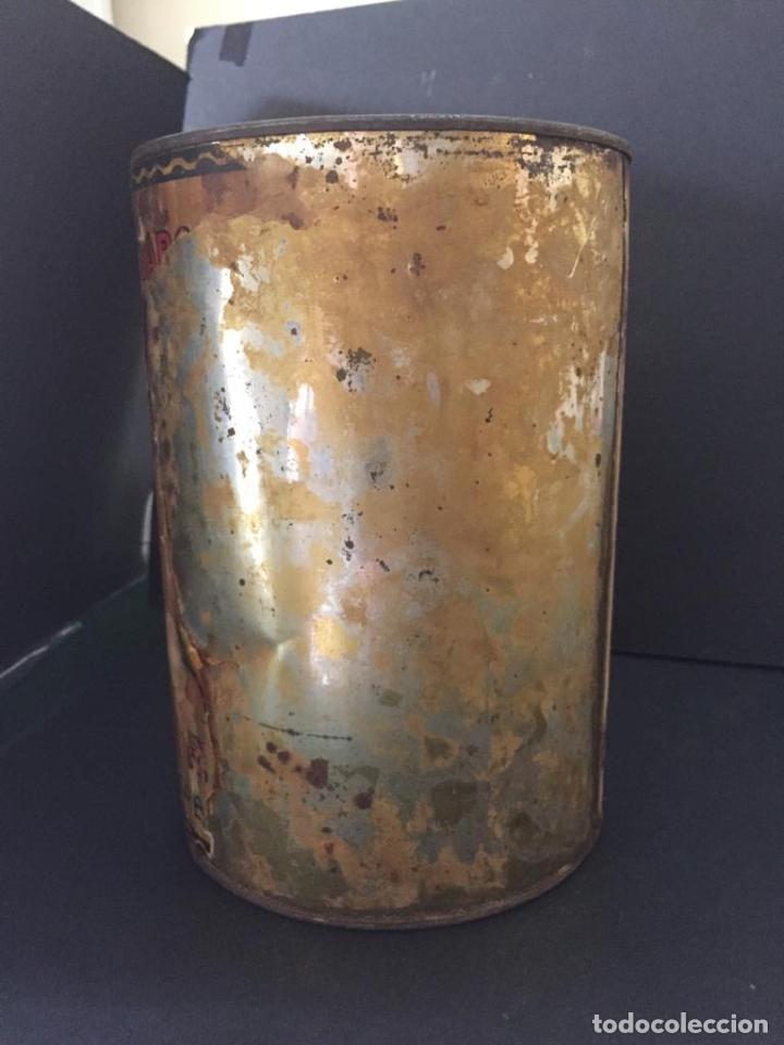 Cajas y cajitas metálicas: ANTIGUA CAJA METALICA - GALLETAS ROMEU - BARQUILLOS (SABADELL) - Foto 6 - 220570183