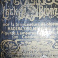 Cajas y cajitas metálicas: CAJA ESTUCHE .. CM PRODUCTO PAR MADERA..YESO.. ETC.. LEAN LA CAJA.. UNA COSA RARISIMA.. ANTIQUÍSIMA. Lote 220625618