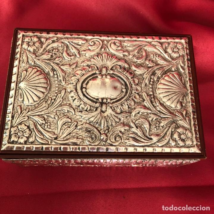 Cajas y cajitas metálicas: CAJA DE PLATA 925 TODA LABRADA - Foto 3 - 220693207