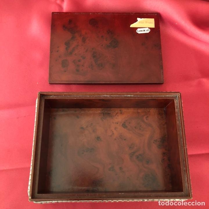 Cajas y cajitas metálicas: CAJA DE PLATA 925 TODA LABRADA - Foto 4 - 220693207