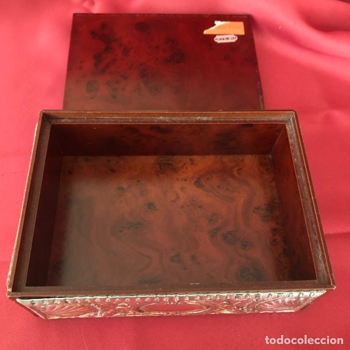 Cajas y cajitas metálicas: CAJA DE PLATA 925 TODA LABRADA - Foto 5 - 220693207