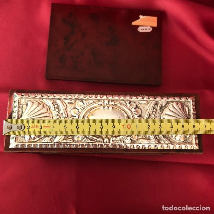 Cajas y cajitas metálicas: CAJA DE PLATA 925 TODA LABRADA - Foto 6 - 220693207