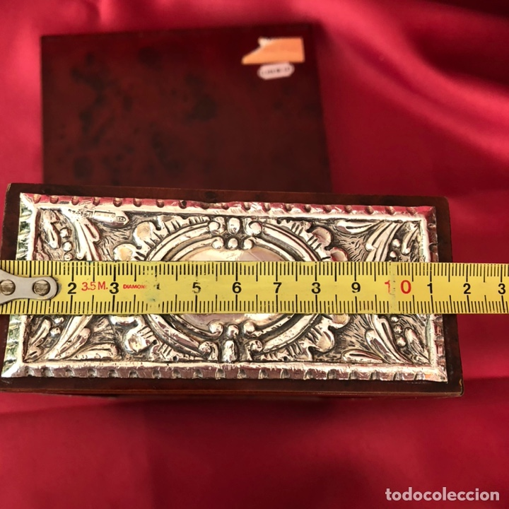Cajas y cajitas metálicas: CAJA DE PLATA 925 TODA LABRADA - Foto 7 - 220693207