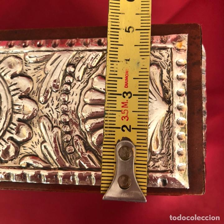 Cajas y cajitas metálicas: CAJA DE PLATA 925 TODA LABRADA - Foto 8 - 220693207