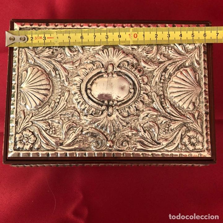 Cajas y cajitas metálicas: CAJA DE PLATA 925 TODA LABRADA - Foto 9 - 220693207