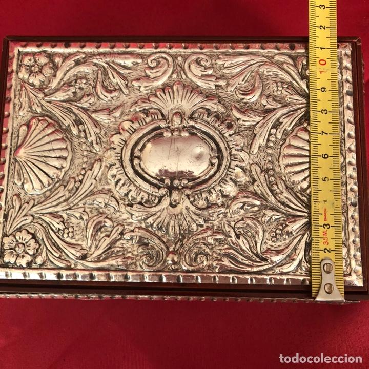 Cajas y cajitas metálicas: CAJA DE PLATA 925 TODA LABRADA - Foto 10 - 220693207