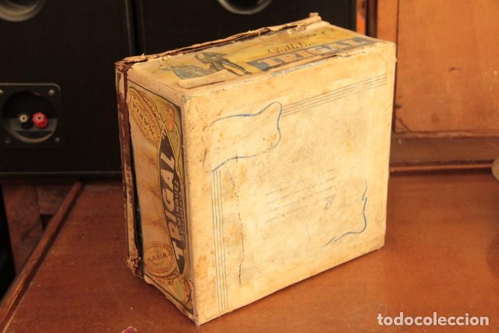 Cajas y cajitas metálicas: Antigua y rarisima caja de galletas maria, caja de metal galletas trigal , dominguez, salamanca - Foto 8 - 220772386