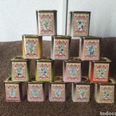 Cajas y cajitas metálicas: ANTIGUAS CAJAS METALICAS. Lote 221111846