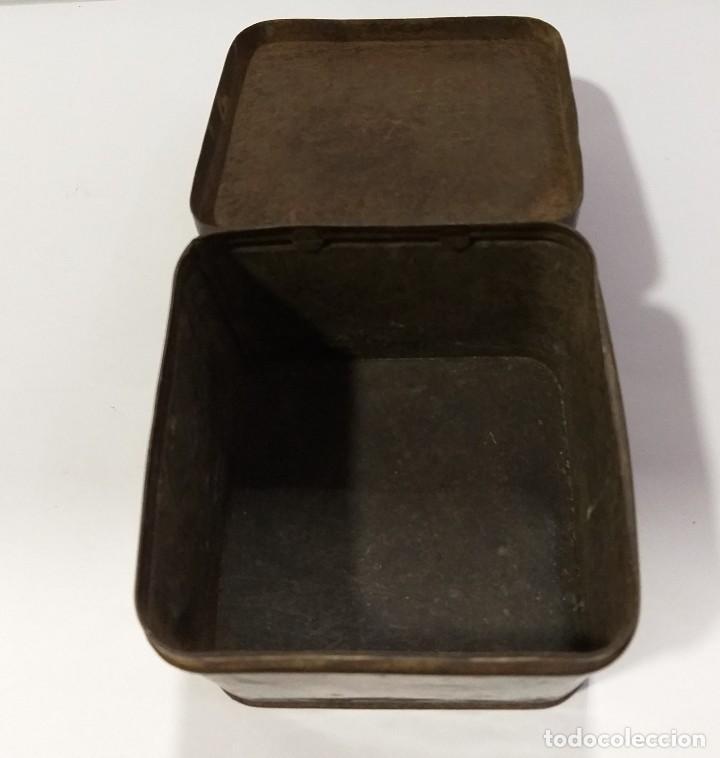 Cajas y cajitas metálicas: CAJA DE HOJALATA LITOGRAFIADA CON TEMAS PASTORILES - Foto 6 - 221368367