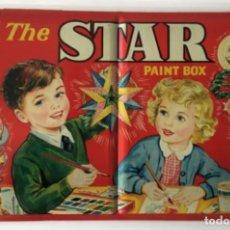 Cajas y cajitas metálicas: CAJA ACUARELAS. THE STAR. PAINT BOX.. Lote 221380651