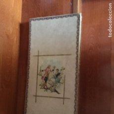 Cajas y cajitas metálicas: ANTIGUA CAJA SOLA-SERT Y FORMOSA , BARCELONA . PPIOS SIGLO XX. Lote 221772185