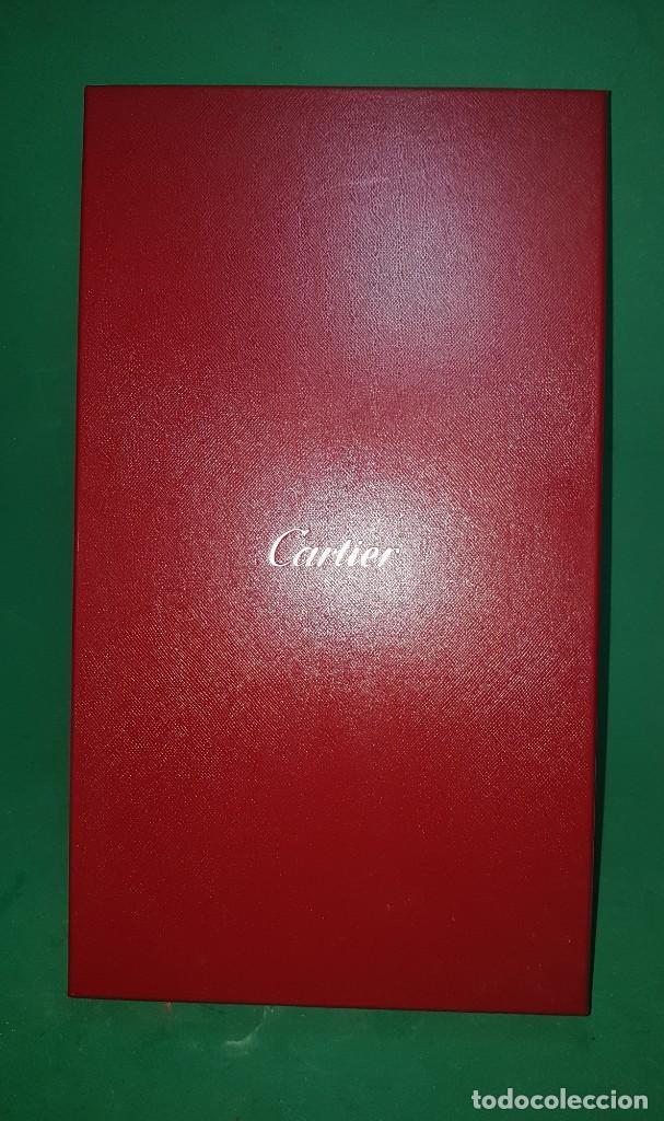 PRECIOSA Y CONSERVADA CAJA DE CARTIER GRAN TAMAÑO CAJA SOBRE CAJA (Coleccionismo - Cajas y Cajitas Metálicas)