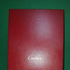 Cajas y cajitas metálicas: PRECIOSA Y CONSERVADA CAJA DE CARTIER GRAN TAMAÑO CAJA SOBRE CAJA. Lote 222059388