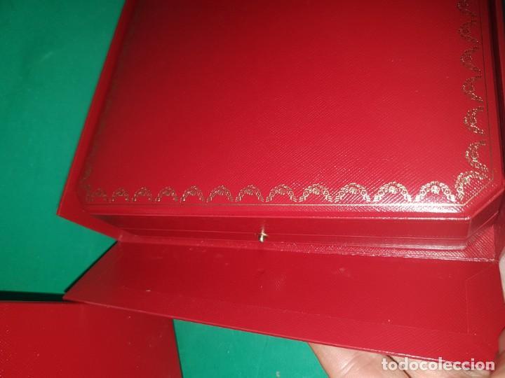 Cajas y cajitas metálicas: PRECIOSA Y CONSERVADA CAJA DE CARTIER GRAN TAMAÑO CAJA SOBRE CAJA - Foto 6 - 222059388
