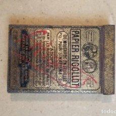 Cajas y cajitas metálicas: LATA DE LATÓN SIGLO XIX DE ORIGEN FRANCÉS. Lote 222337055