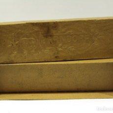 Cajas y cajitas metálicas: CAJA DE CARTÓN. FABRICA DE BERNDORF. ARTHUR KRUPP. ORIGINAL EN ALEMÁN.. Lote 222343150