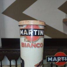 Cajas y cajitas metálicas: CAJA BOTELLA MARTINI DE BAILEYS. Lote 222593547