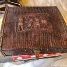Cajas y cajitas metálicas: BONITA CAJA GRAN TAMAÑO. Lote 222753741