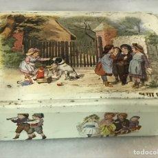 Cajas y cajitas metálicas: CAJA METÁLICA MASSYLLI. Lote 223155023
