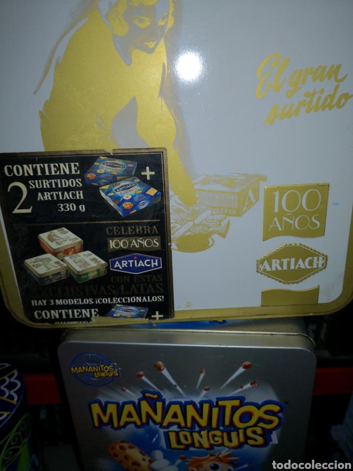 Cajas y cajitas metálicas: Botes, cajas, latas, envases - Foto 4 - 223157668