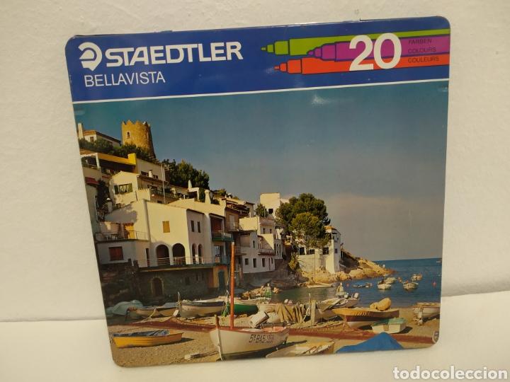 Cajas y cajitas metálicas: Caja de Metal con 20 rotuladores. • Marca: Staedtler - Foto 3 - 223751635