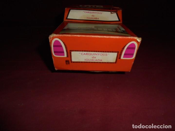 Cajas y cajitas metálicas: magnifica antigua caja de carton en forma de coche carquiyolis de igualada - Foto 5 - 224811588