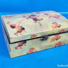 Cajas y cajitas metálicas: CAJA CAJOTA JOYERO. Lote 225033911