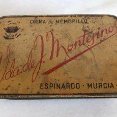 Caixas e caixinhas metálicas: ANTIGUA CAJA METÁLICA BALA DE MONTESINOS 18X12X6CM. Lote 225807370