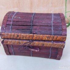 Cajas y cajitas metálicas: CAJITA MIMBRE. Lote 226345625