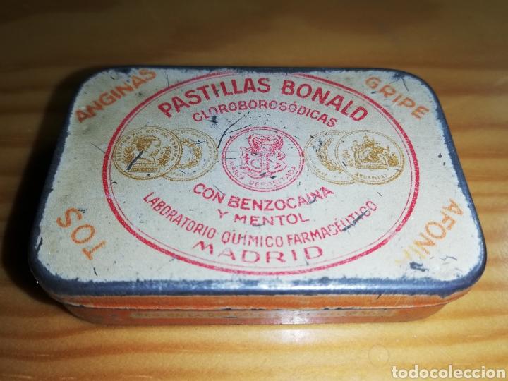 CAJA METÁLICA PASTILLAS BONALD (Coleccionismo - Cajas y Cajitas Metálicas)