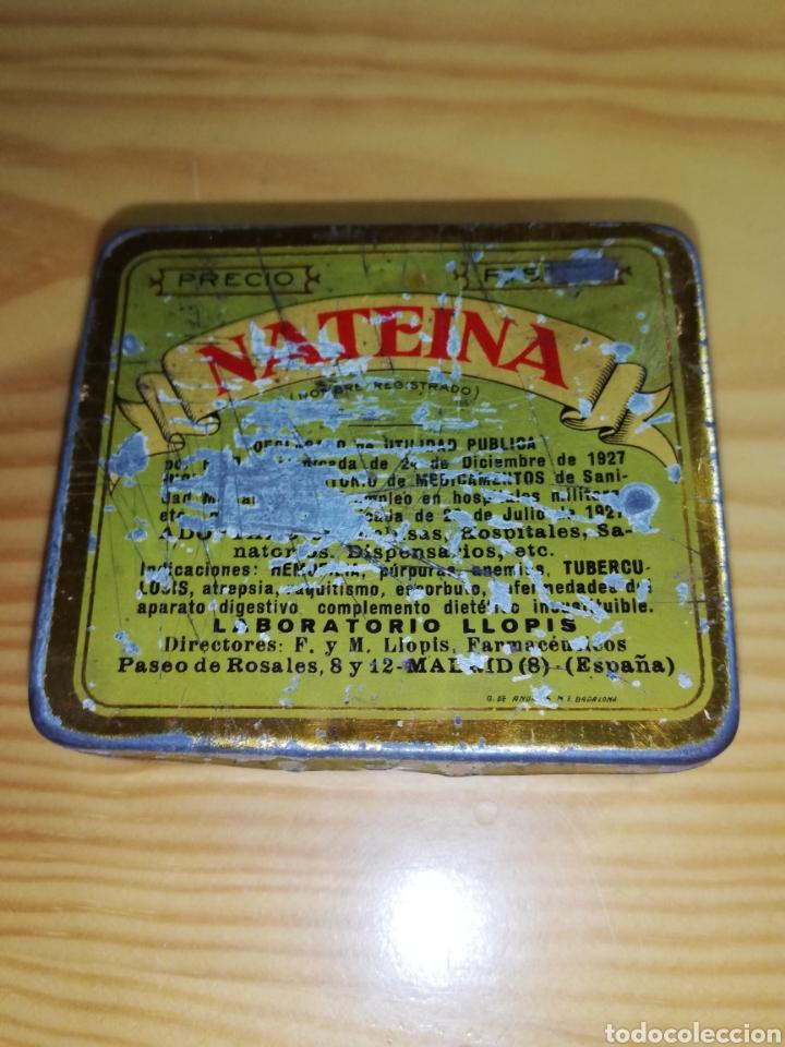 CAJA METÁLICA NATEINA (Coleccionismo - Cajas y Cajitas Metálicas)