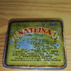 Cajas y cajitas metálicas: CAJA METÁLICA NATEINA. Lote 228296255