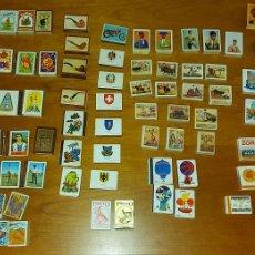 Boîtes et petites boîtes métalliques: LOTE 116 CAJAS FÓSFOROS CERILLAS TOREROS FUTBOLISTAS COHETES NATURALEZA. Lote 228534850