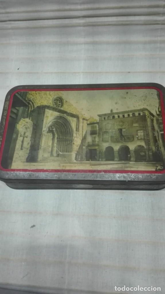 CAJA METALICA TURRONES AGRAMUNT (Coleccionismo - Cajas y Cajitas Metálicas)