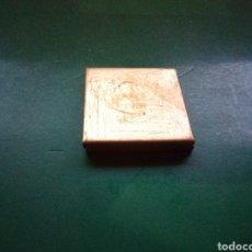 Cajas y cajitas metálicas: ANTIGUA CAJITA METÁLICA RARA Y CURIOSA CON COMPARTIMENTO. 4X0,5 CENTÍMETROS. Lote 229719920