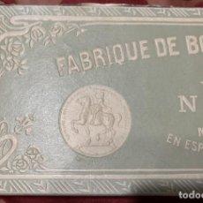 Cajas y cajitas metálicas: ANTIGUA CAJA CARTON MODERNISTA CALCETINES .FABRIQUE DE BONNETERIE FRANCAISE . MARQUE DEPOSEE .. Lote 230600440