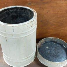 Cajas y cajitas metálicas: CAJA METALICA CILINDRICA. Lote 230615250