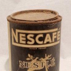 Cajas y cajitas metálicas: LATA NESCAFE. Lote 231801325