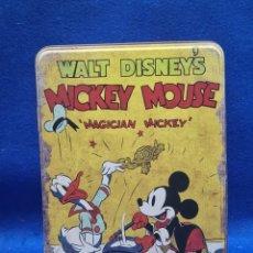 Boîtes et petites boîtes métalliques: CAJA METALICA WALT DISNEY MICKEY MOUSE MAGICIAN MICKEY. Lote 232860095