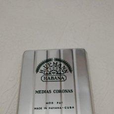 Cajas y cajitas metálicas: ANTIGUA LATA CAJA H.UPMANN PUROS HABANA CUBA. Lote 233024980