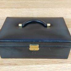 Cajas y cajitas metálicas: CAJA MALENTIN JOYERO VARIOS COMPARTIMENTOS. Lote 234833360