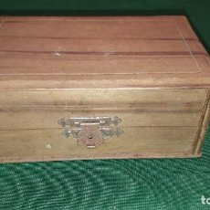 Caixas e caixinhas metálicas: CAJITA DE MADERA. Lote 234924185