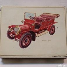 Cajas y cajitas metálicas: ANTIGUA CAJA DE LATA - EL AVIÓN - LOGROÑO - SPIKER 1907 - VER TODAS LAS FOTOS. Lote 235326685