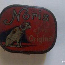 Cajas y cajitas metálicas: LATA DE PUAS NORIS. Lote 235613055