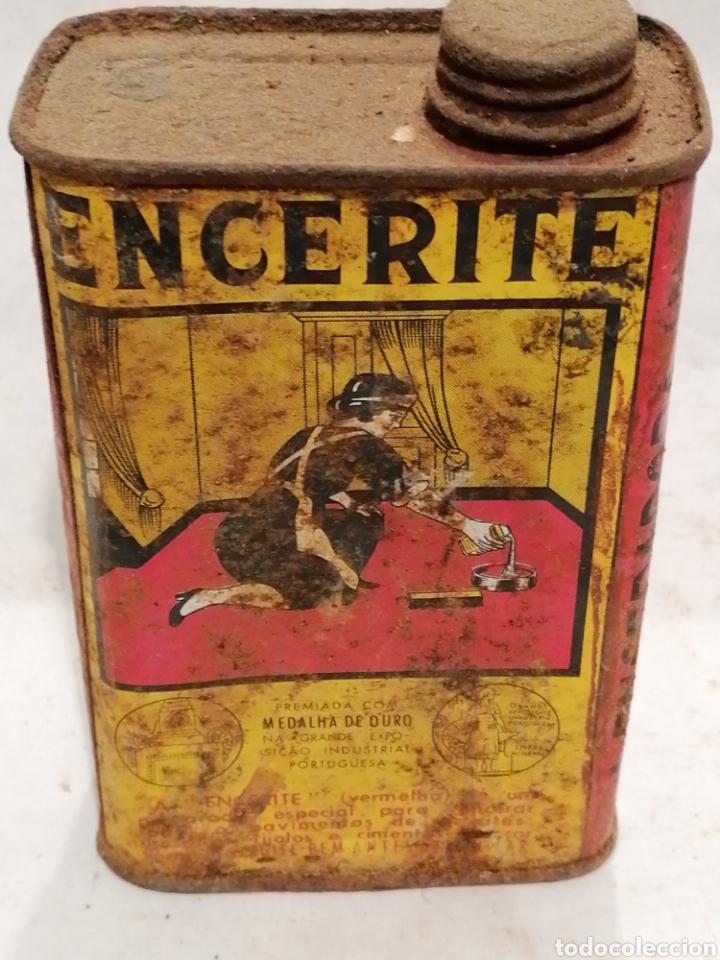 ENCERITE (Coleccionismo - Cajas y Cajitas Metálicas)