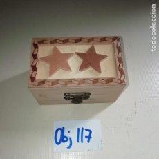 Cajas y cajitas metálicas: CAJA DE MADERA. Lote 238696630