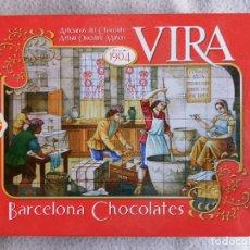 Caixas e caixinhas metálicas: CAJA METALICA - CHOCOLATES VIRA - BARCELONA. Lote 240804430