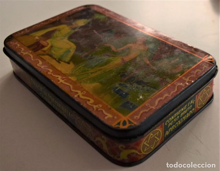 Cajas y cajitas metálicas: PRECIOSA CAJA METÁLICA DULCE DE MEMBRILLO CLASE EXTRA SIN MARCA - 17,5 X 11 X 3,8 CM - Foto 4 - 241157125